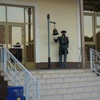 Скульптура Начальник вокзала