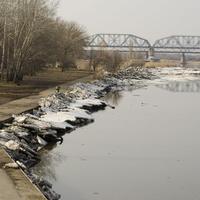 река Северский Донец. г. Каменск-Шахтинский. 03.03.2017