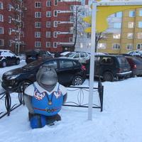 улица Маршала Захарова, во дворе