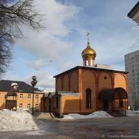 Щербинка. Церковь Елисаветы Феодоровны