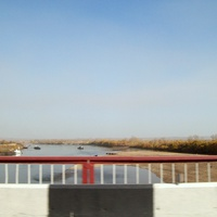 Дорога Р-255 Сибирь. Река Чулым. Объездная дорога