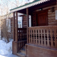 Дом -  музей Сергея Есенина в селе Константиново.