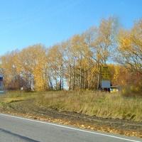Дорога Р-255 Сибирь. Сворот на Малиновку