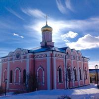 Собор Успения Пресвятой Богородицы. Иоанно - Богословский монастырь в Пощупово.