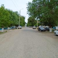 По улице К. Асанова в ауле Саудакент