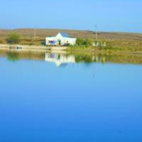 Жанатас. Озеро в парке