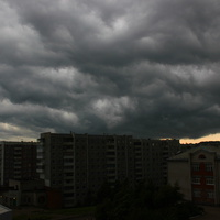 Непогода над Амурском.