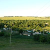 село с высоты