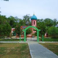 Мечеть в ауле Саудакент