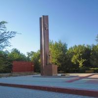 Жанатас. Памятник солдатам-героям из Сарысуского района, погибшим в Великой Отечественной войне