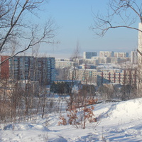 Зима в Амурске