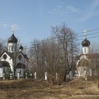 Церковь Новомучеников Подольских и часовня Михаила Архангела