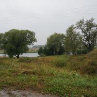 Озеро, старое русло реки Мокша