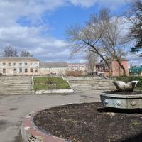 Парк, вид от РДК.