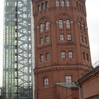 Главная станция Санкт-Петербургских городских водопроводов . Водонапорная башня - Музей воды