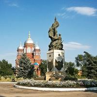Памятник Героям Гражданской войны в Пугачеве
