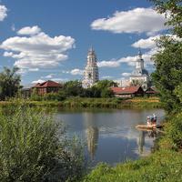 У озера. Петровское. Кировская область