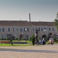 Центральная площадь. Пичаево. Тамбовская область