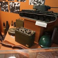 В музее обороны Ленинграда.