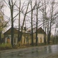 Храм иконы Всех Скорбящих Радосте г. Рошаль в процессе восстановдления 1998г. Вид с юго-запада.