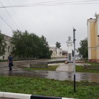Улица Мишина, памятник А.С.Мишину