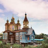 Город Шилка. Храм святых Апостолов Петра и Павла