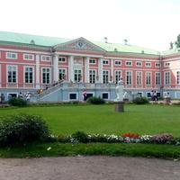 Музей-усадьба Кусково. Задняя сторона дворца Шереметьева