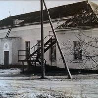 Клуб,вид на кінобудку 70 роки