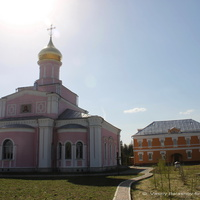 Собор Троицы Живоначальной в Троице-Одигитриевской Зосимовой пустыни