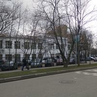 Старое здание школы № 870, постройки 1934 года