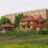 Вид на центральную районную больницу.