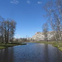 В парке Сергея Есенина