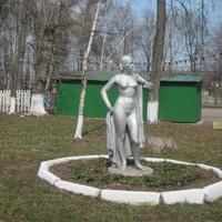 Скульптура в Пушкинском парке