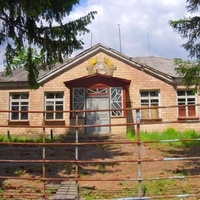 Контора бывшего колхоза им.Ленина.