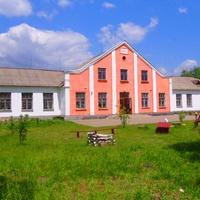 Школа села Сунки построенная в 1960 году.