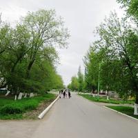 Мокроус. Улица Победы - архитектурная память АССР НП.