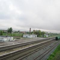 Мокроус. Железнодорожная станция и новый вокзал.
