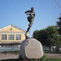 Памятник Всеволоду Боброву