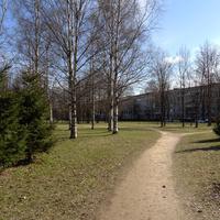 Меньшиковский проспект. Сквер