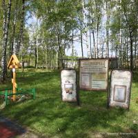 Крест-голубец на историческом участке Владимирского тракта