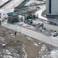 вид с водонапорной башни на МАПП забайкальск