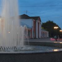 Фонтан на улице Малахия Белова