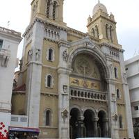 Тунис. Католический кафедральный собор Св. Викентия де Поля.