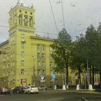 На Комсомольском проспекте
