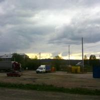 В Усть-Сынах,  вид с трассы.