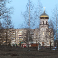 Строительство храма.