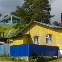 ул. Ленина, дома на берегу р. Кама
