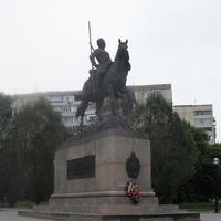 г.Оренбург, памятник Оренбургскому казачеству