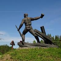 """Воинский мемориал """"Борницкий рубеж обороны"""""""