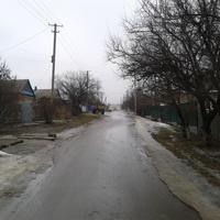 Весенне-зимняя улица.